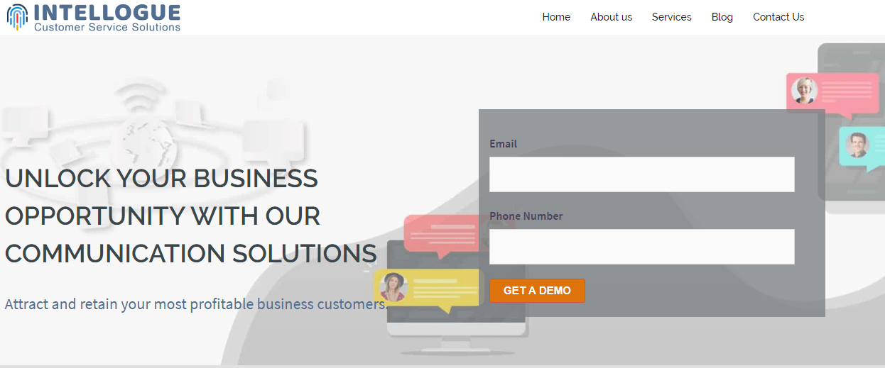 Attract and retain your most profitable business customers through intellouge