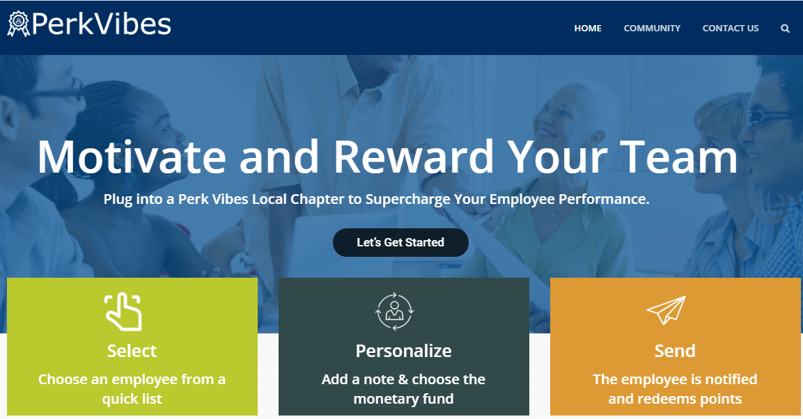 Effective employee recognition programs from Perk Vibes